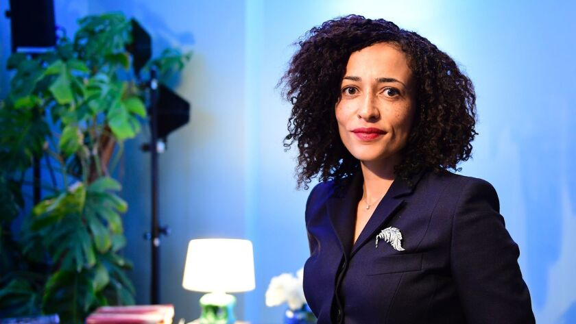 Novelist Zadie Smith is among the finalists in the National Book Critics Circle Awards