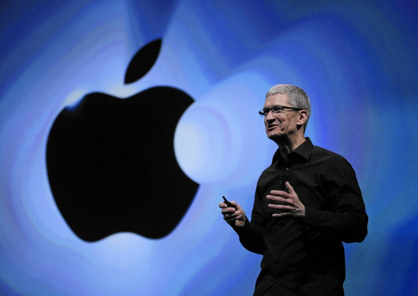 Apple Ceo Tim Cook Is Forging An Unusual Path As A Social Activist Los Angeles Times