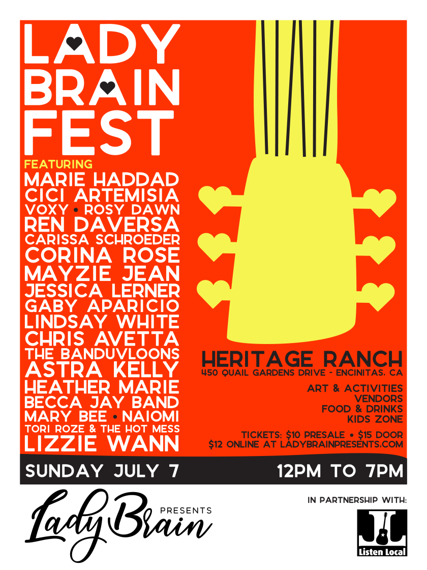 Lady Brain Presents