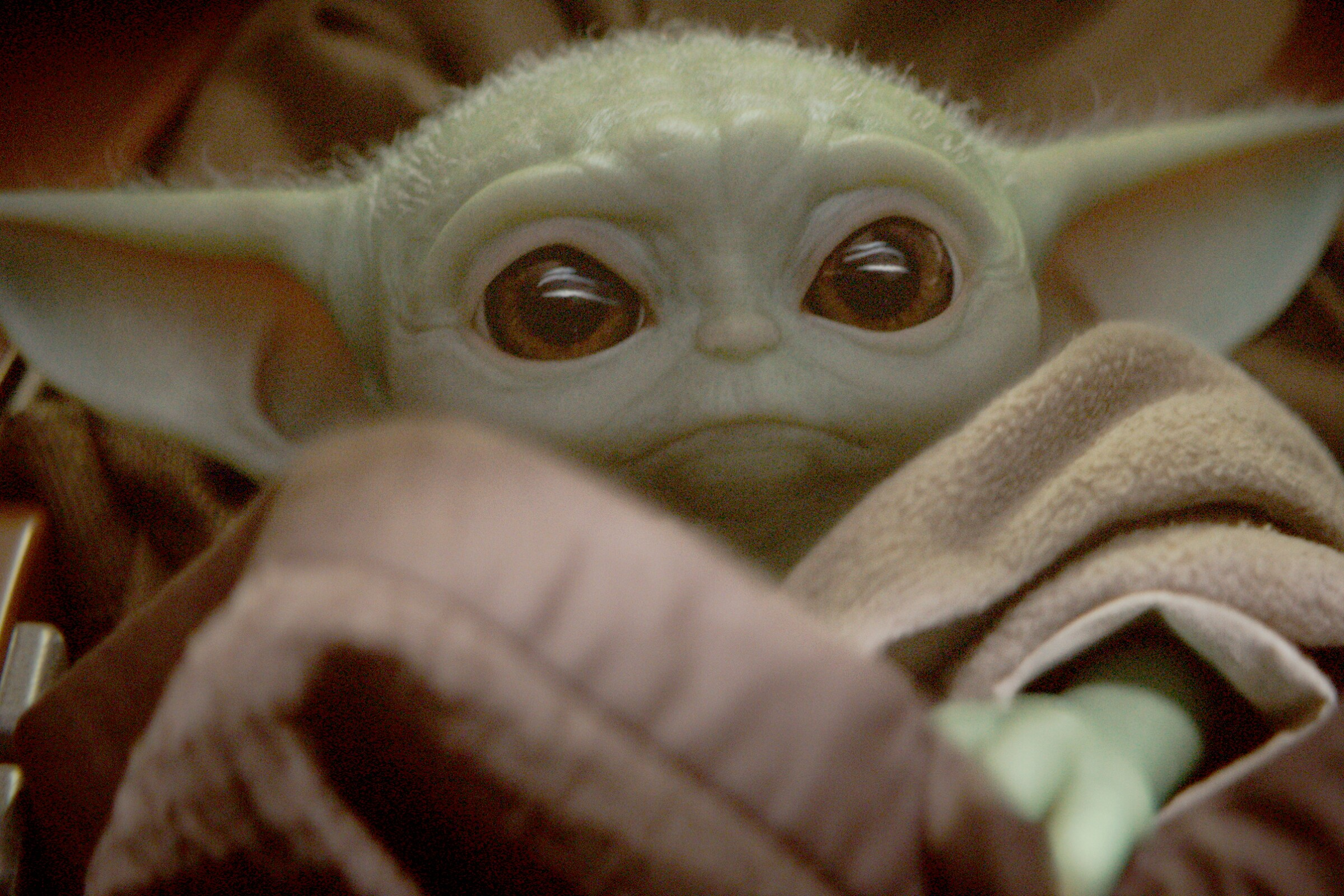 "Baby Yoda, a.k.a. ""the Child."""