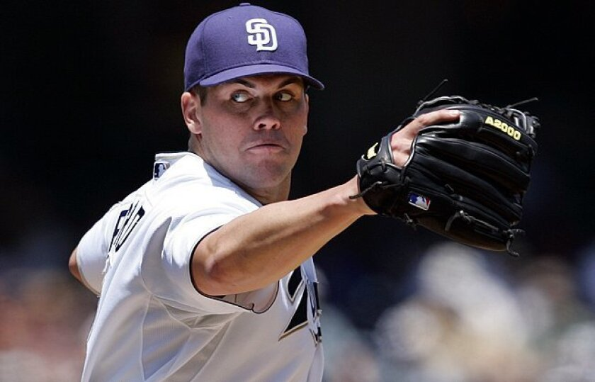 Padres left-hander Clayton Richard finally enjoys his day in the sun.