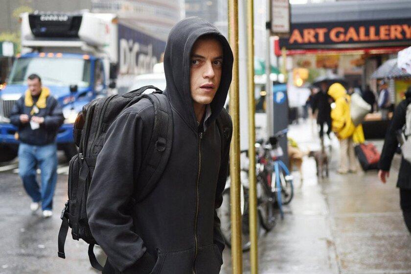 "Rami Malek in ""Mr. Robot."" (Sarah Shatz/USA Network/TNS)"