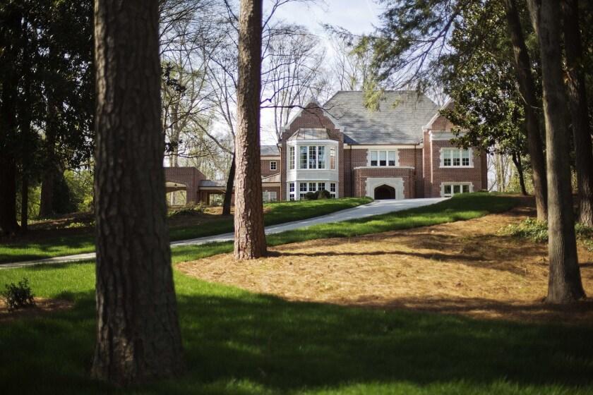 Atlanta archbishop's mansion