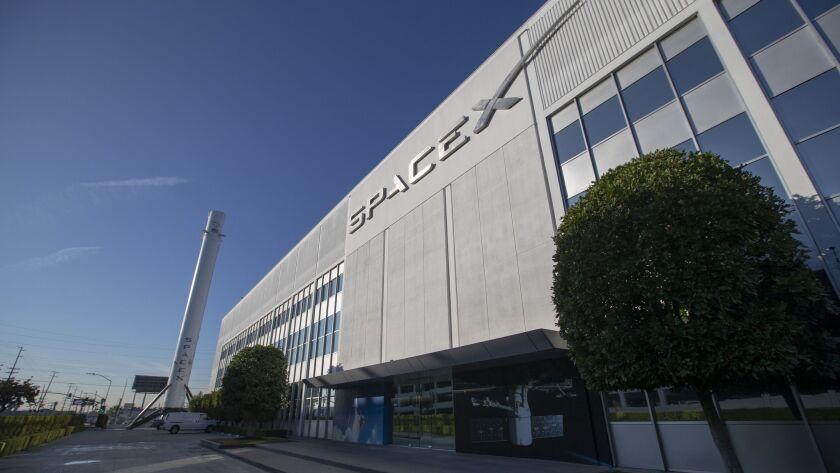 SpaceX Hawthorne headquarters