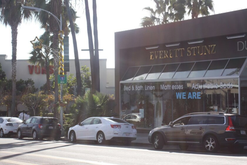 Everett Stunz is located at 7616 Girard Ave., adjacent to Vons.