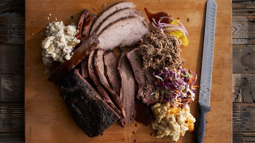 User Upload Caption: Meat Locker BBQ offers a traditional Texas-style barbecue, smoked over white oa