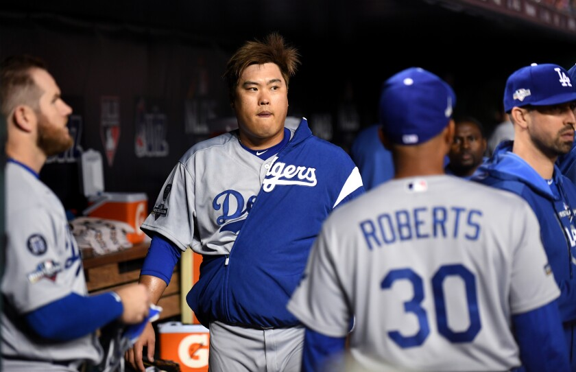 Column: Weak NL West competition gives Dodgers little motivation to spend on free agents