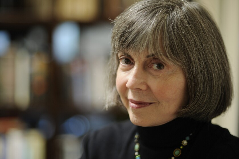 """Anne Rice is the author of the """"Vampire Chronicles"""" book series."""