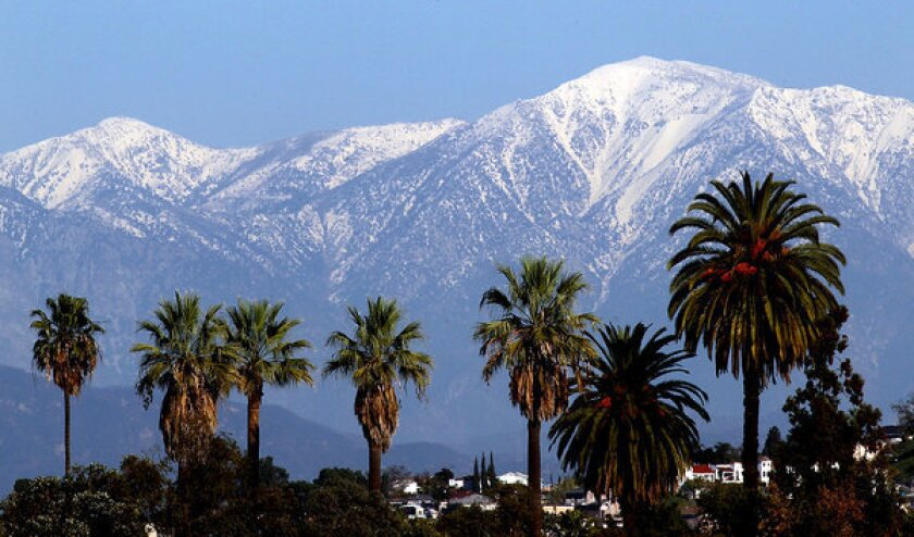 Climate change could slash snowfall in Southern California mountains