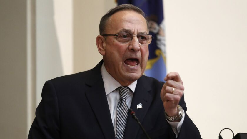 Maine Gov. Paul LePage was sued Tuesday for refusing to honor a ballot initiative supporting Medicaid expansion.