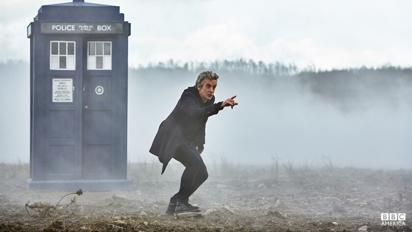"""Peter Capadli starred as the time-traveling """"Doctor Who."""""""
