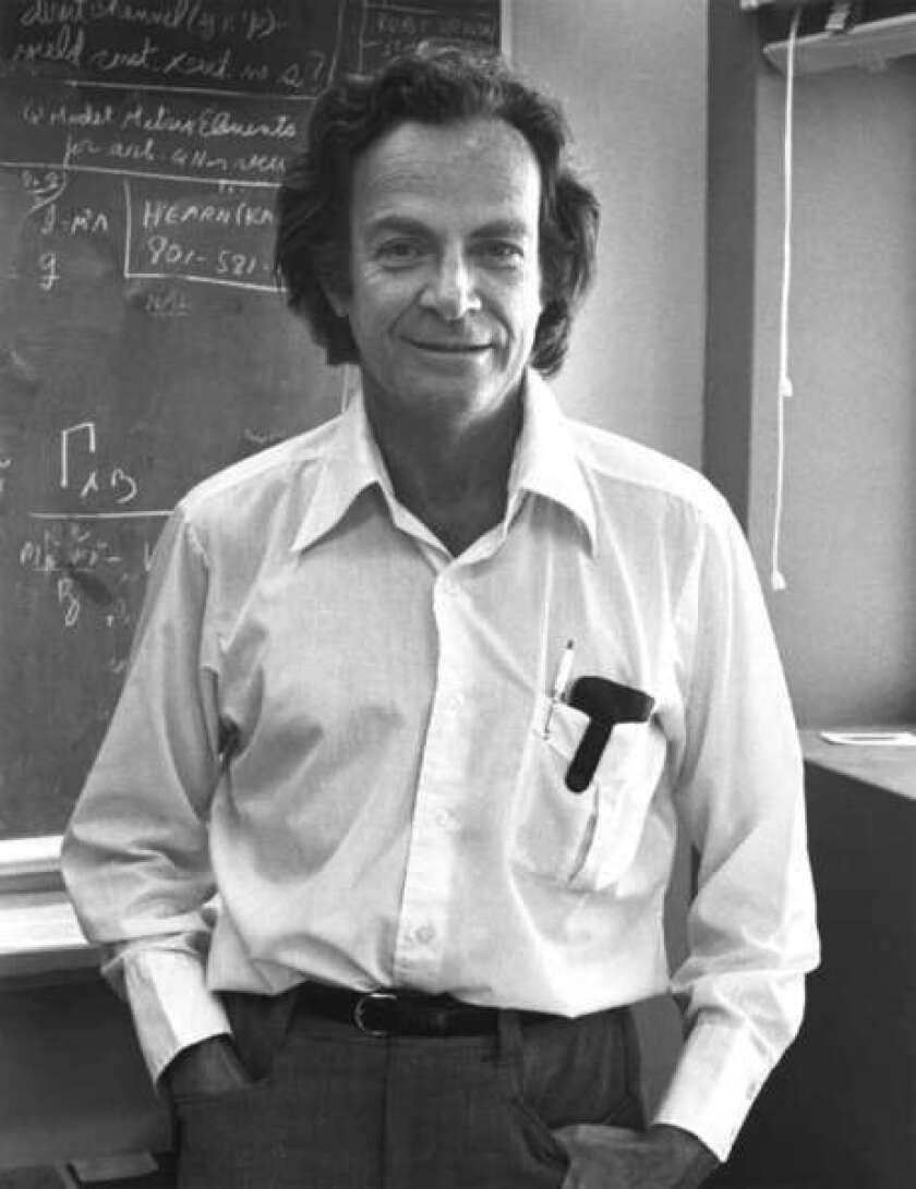 Genius: Richard P. Feynman in 1974.