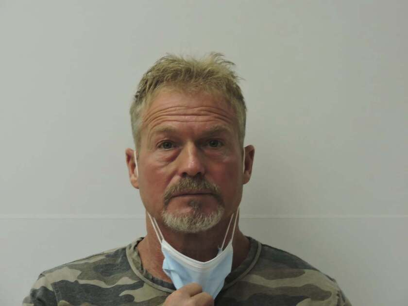 This photo provided by Chaffee County Sheriff's Office shows Barry Morphew. Morphew was arrested in connection with the disappearance of his wife, Suzanne Morphew, as the result of an ongoing investigation that has so far involved over 135 searches across Colorado and the interviews of over 400 people in multiple states, Chaffee County Sheriff John Spezze said, Wednesday, May 5, 2021. (Chaffee County Sheriff's Office via AP)
