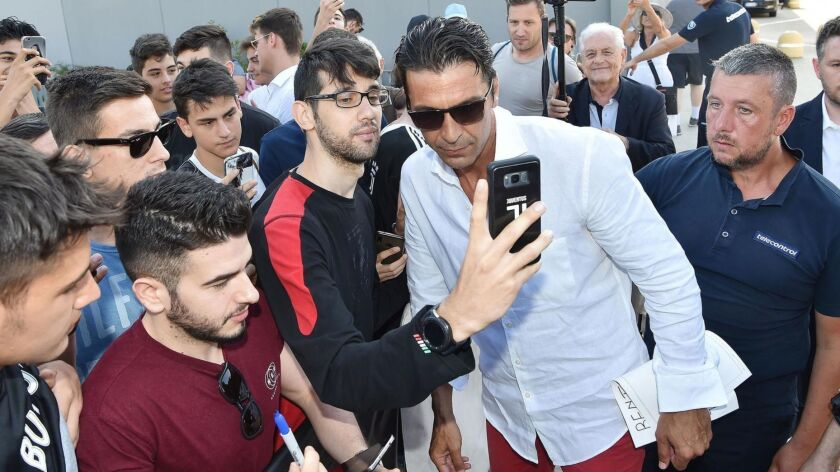Italian goalkeeper Buffon returns to Juventus Turin, Italy - 04 Jul 2019