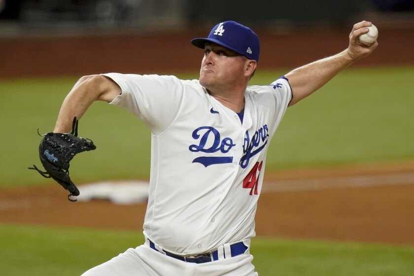 Does free-agent reliever Jake McGee fit into Dodgers' plans? - Los Angeles  Times