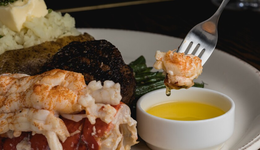 The Original w Lobster Tail