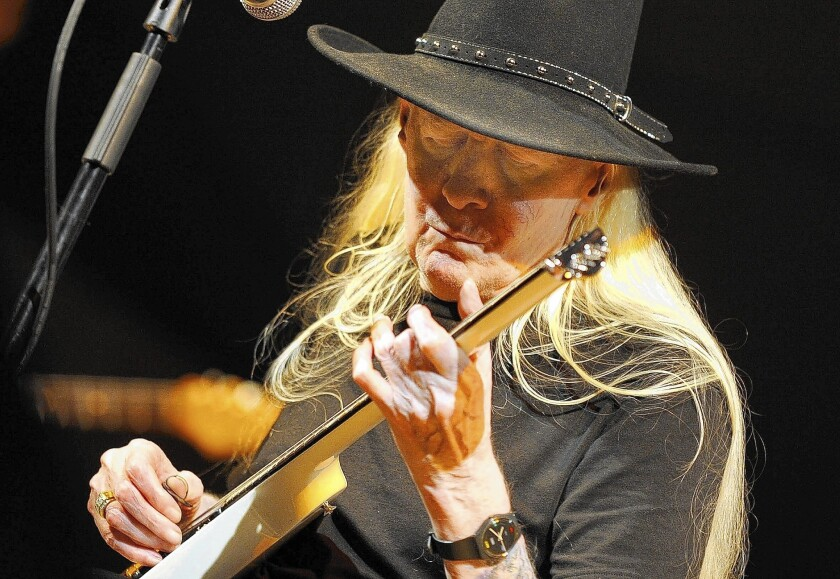 Johnny Winter battled addictions that made him appear prematurely frail. In 2005, he shook off his dependencies and resumed touring.
