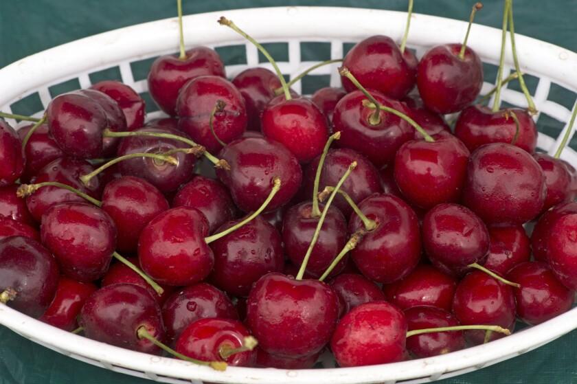California cherries are in season.