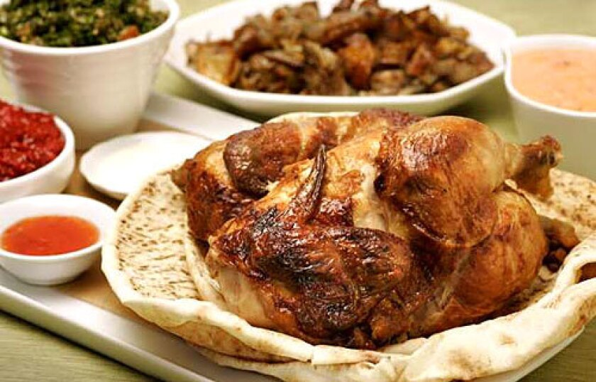 BEST: A rotisserie chicken that has simple seasoning, a well-timed turn on a skewer and is served immediately.