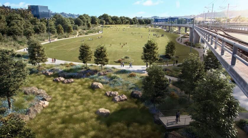 San Diego River Park renderings