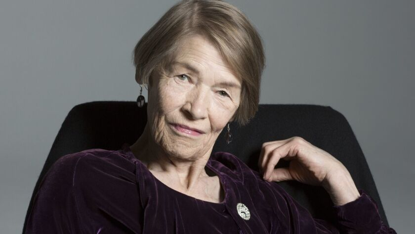 """British actress and Parliament member Glenda Jackson,now starring in """"Three Tall Women."""" CREDIT: Br"""