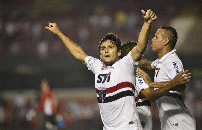 La jornada se completa el domingo con otros tres partidos, además del que protagonizarán Atlético Mineiro y Sao Paulo. EFE/Archivo