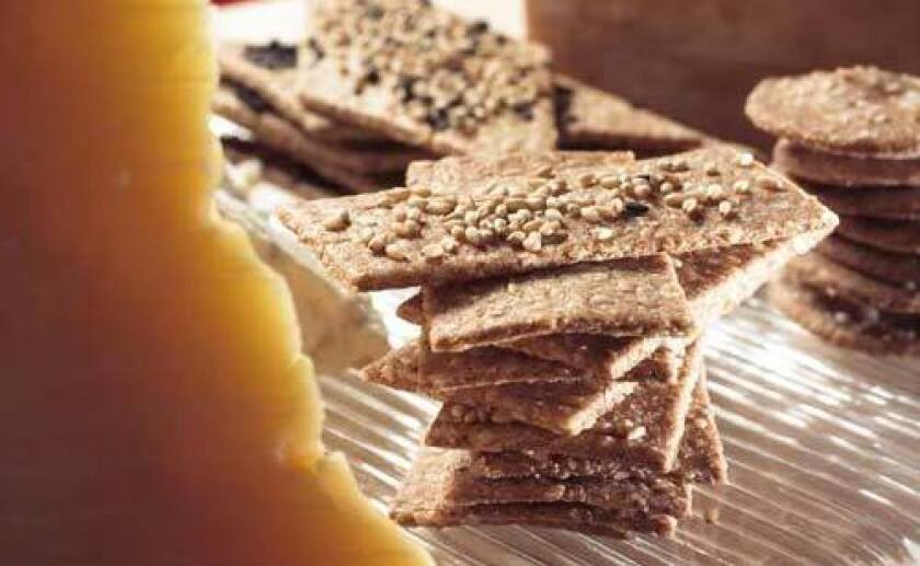 Four-seed crackers