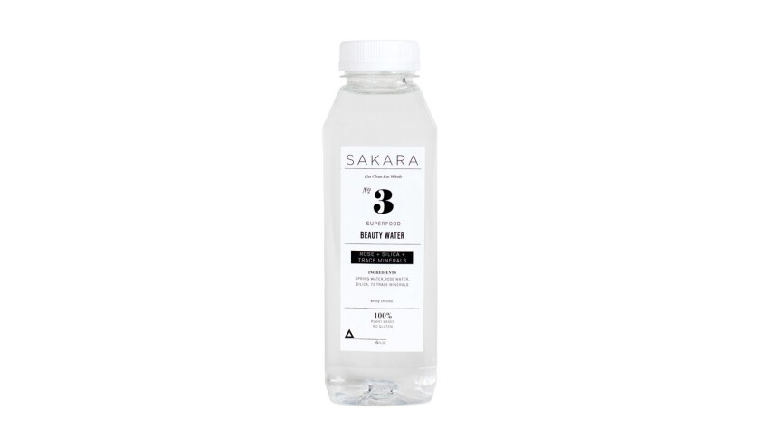 Sakara Life Beauty Water (with pure rose oil) and Beauty Water Cocktail Mix