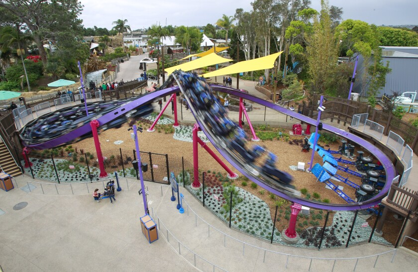 New Tidal Twister coaster at SeaWorld San Diego is shut down again