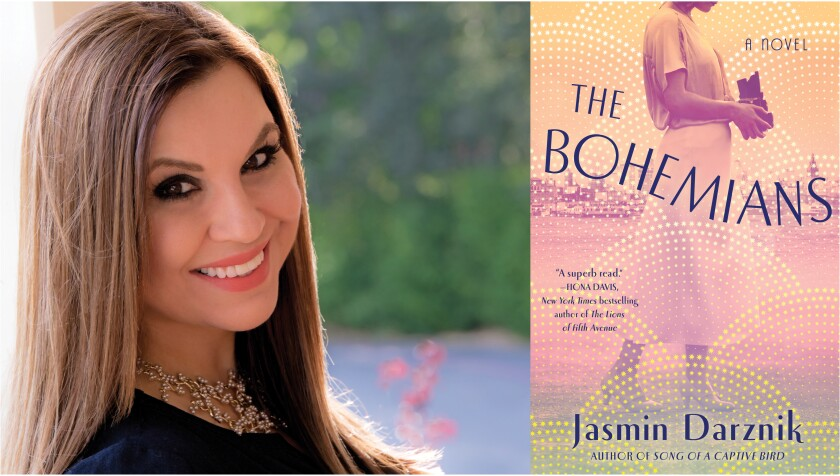 """Author Jasmin Darznik and her new book, """"The Bohemians."""""""