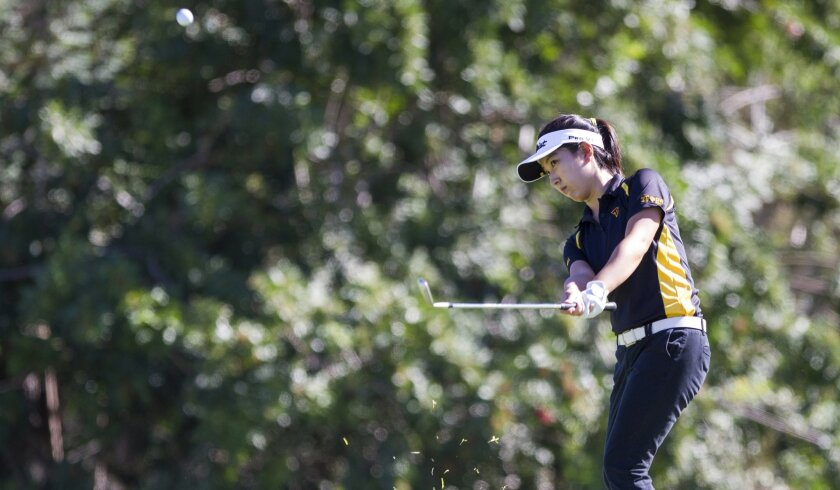 Torrey Pines' Jung Min Park tied for fifth place in last year's San Diego Section championships.