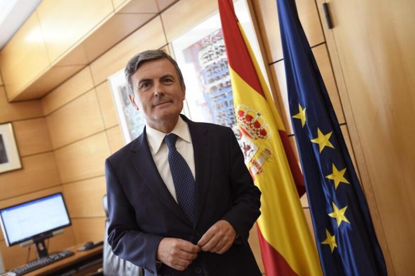 El secretario de Estado de Infraestructuras, Transporte y Vivienda, Pedro Saura. EFE/Archivo