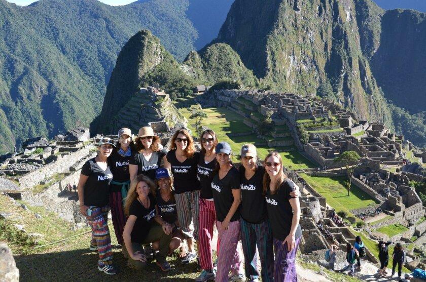 The Project Left Behind volunteers in Peru.