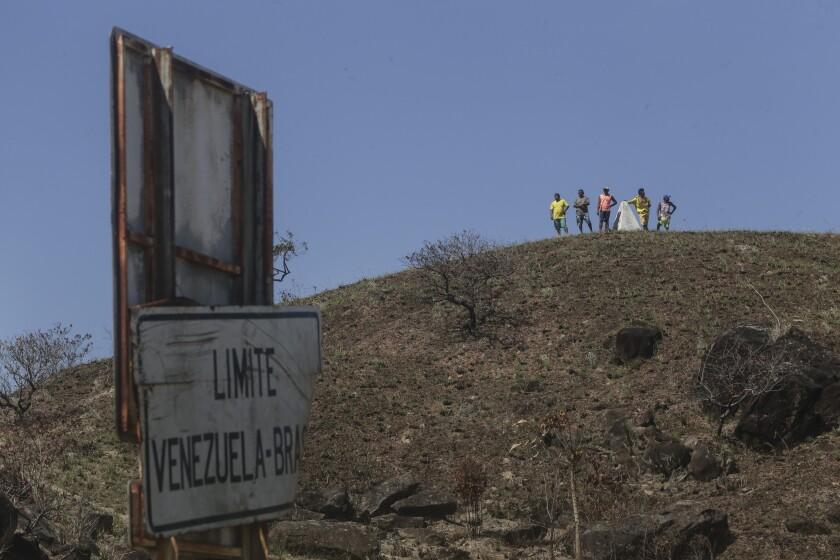 Brazil Venezuela Child Migrants