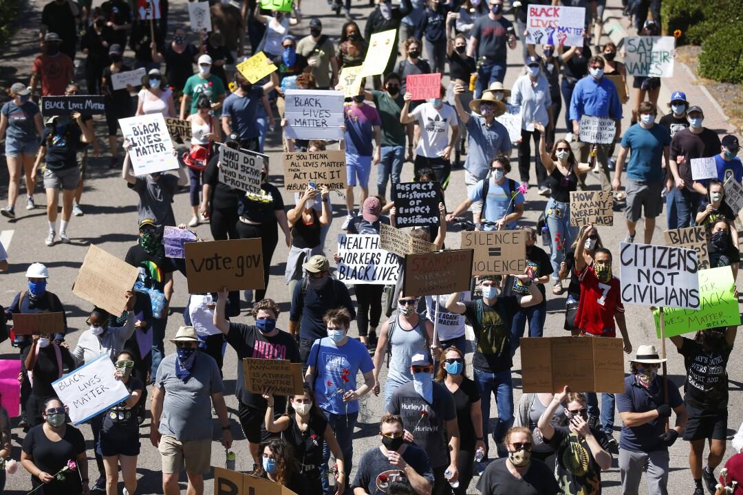 protestas en san diego