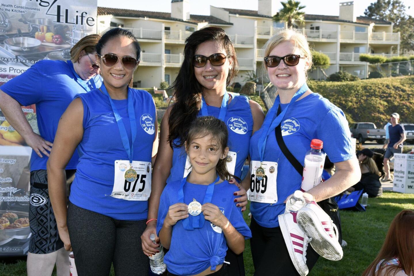 Joy Alger, Aileen Lujan, Dawn Diaz with Aubrey