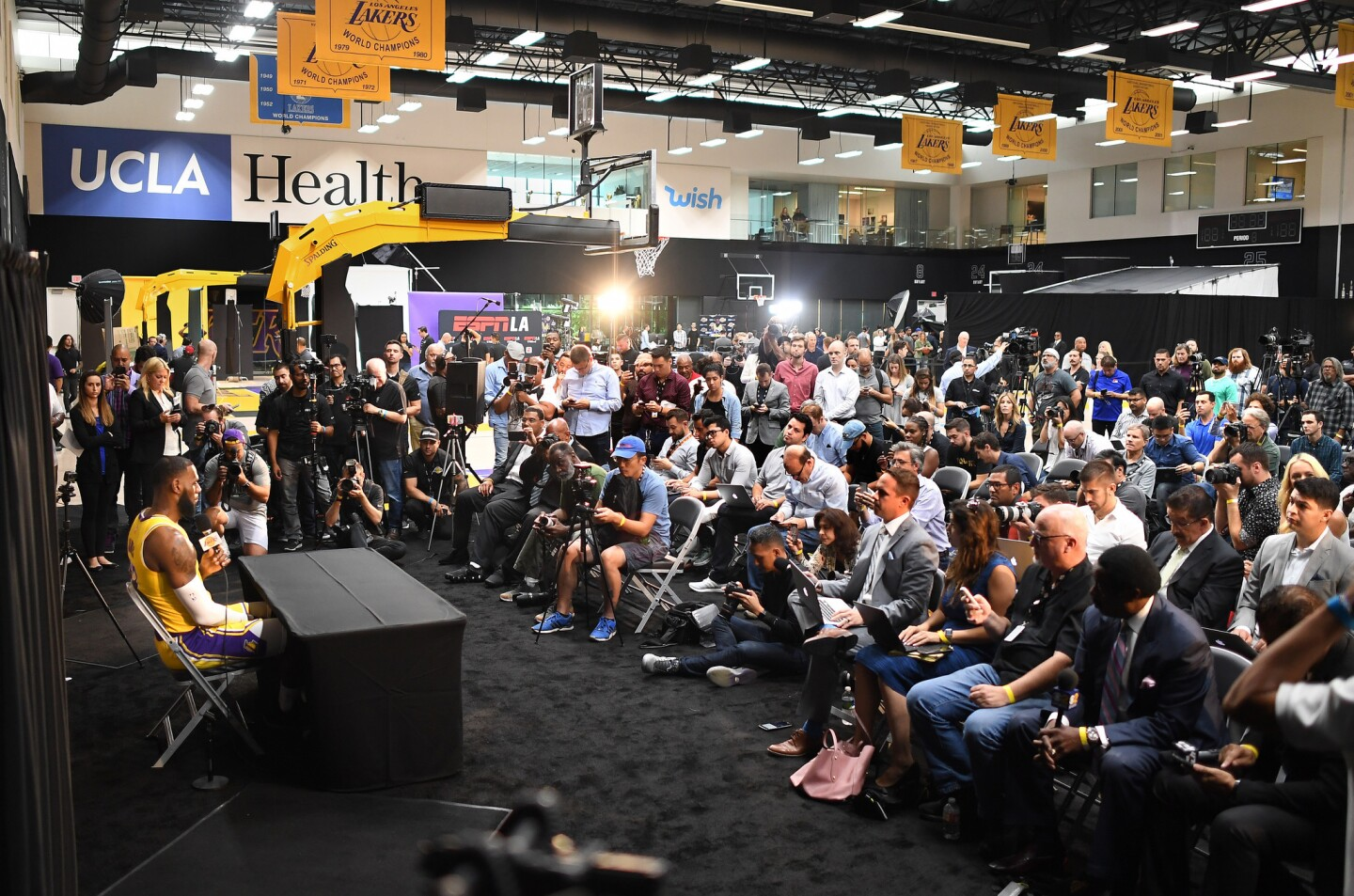 Lakers Media Day 2018