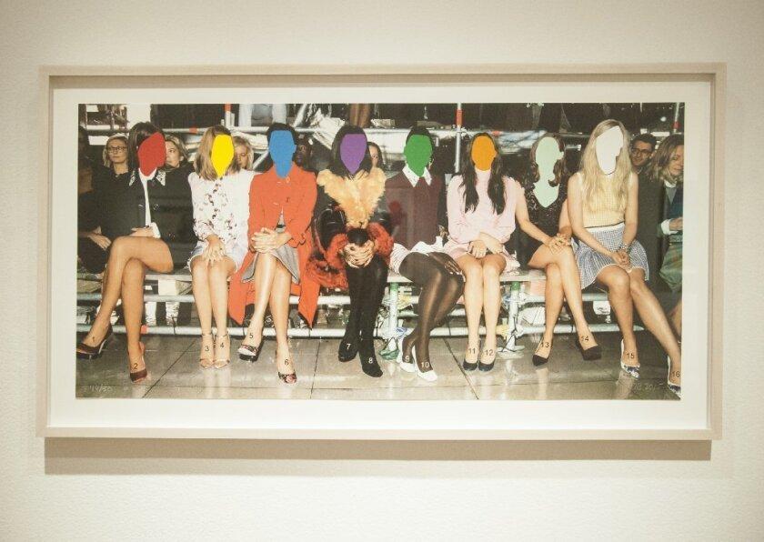 "John Baldessari's ""Numbered Legs"" (2015)"