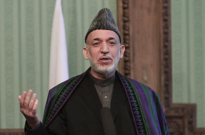 Enabling Hamid Karzai