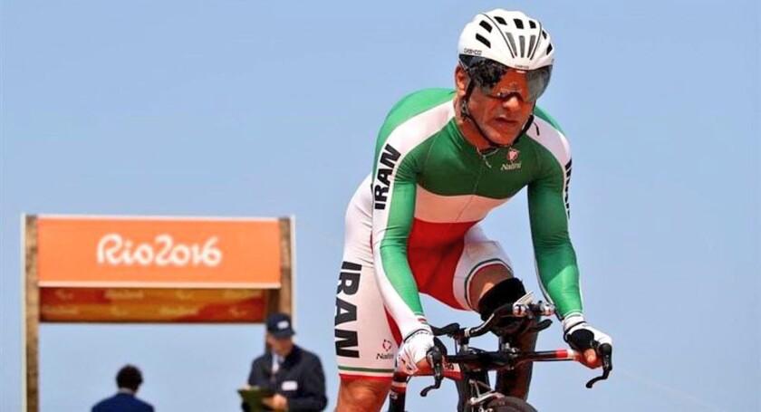 Bahman Golbarnezhad, ciclista iraní.