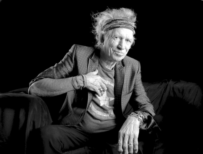 Keith Richards on his own again with new solo album