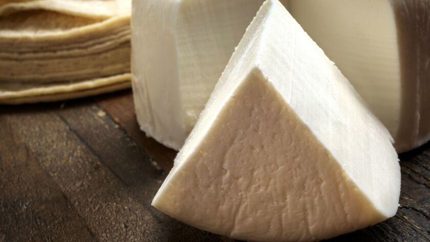 Mexican Queso Fresco cheese.