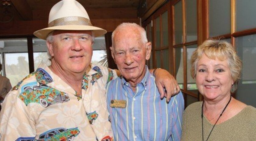 Charlie Pease, Dick Brown, Veronica Pease (Photo: Jon Clark)