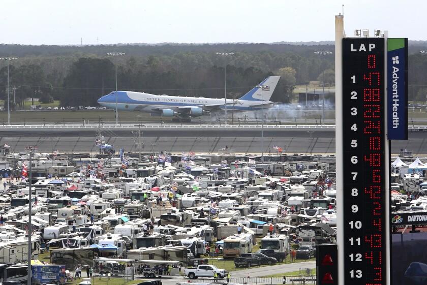Trump NASCAR Daytona 500