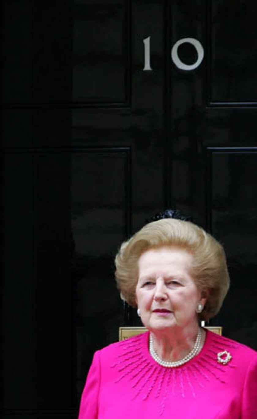 British soccer at odds over Margaret Thatcher tribute