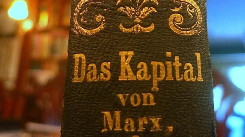 "The $40,000 copy of ""Das Kapital."""