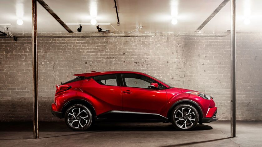 Toyota CH-R subcompact crossover