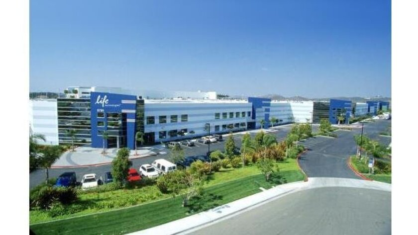 Life Technologies headquarters in Carlsbad.