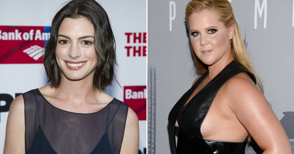 Anne Hathaway and Amy Schumer