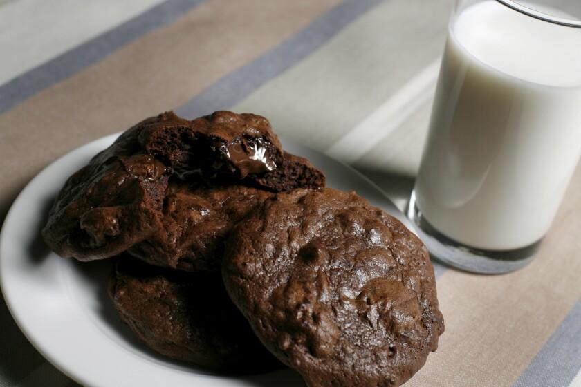 Milk's double chocolate cookies.